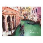 Venice Canal custom post card