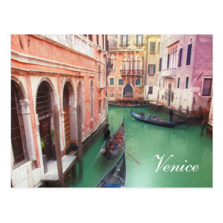 Venice Canal custom post card