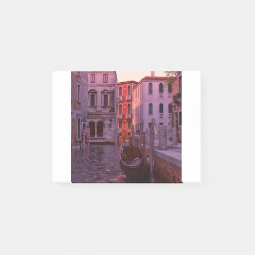 Venice Canal in the Evening Light Post-it Notes