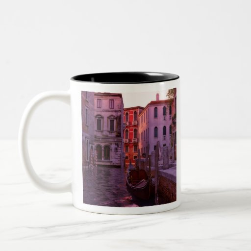 Venice Canal in the Evening Light Two-tone Coffee Mug