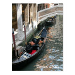 Venice Canal, Italy Post Card