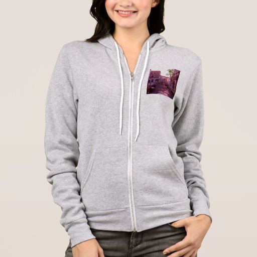 Venice Canal Landscape in the Evening Light Hoodie