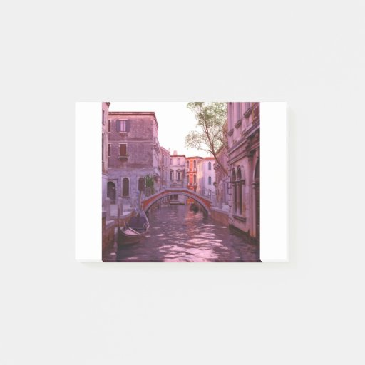 Venice Canal Landscape in the Evening Light Post-it Notes
