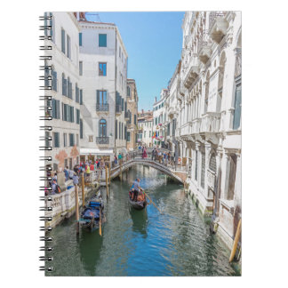 Venice canal notebook