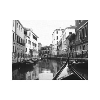 Venice Canals Stretched Canvas Print