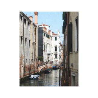 Venice Canals Gallery Wrap Canvas