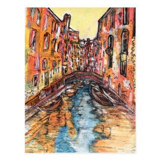 Venice Canals Postcard
