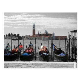 Venice Card Postcard