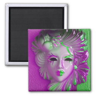 Venice Carnival Mask Magnet
