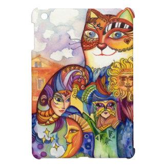 Venice cat iPad mini cover