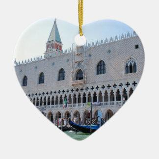 Venice Ceramic Heart Decoration