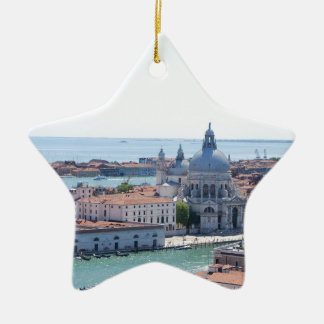 Venice Ceramic Star Decoration