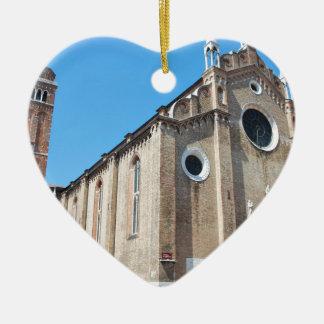Venice church christmas ornament