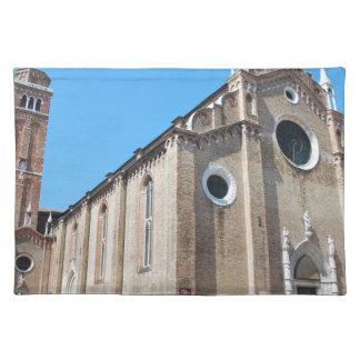 Venice church placemat