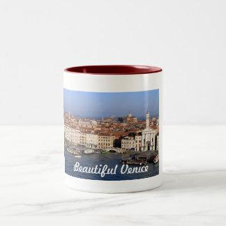 Venice city panorama mug