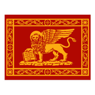Venice Coat of Arms Postcard