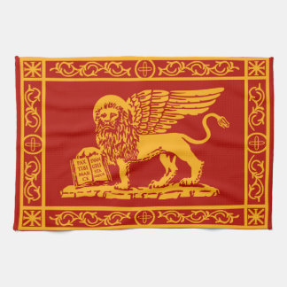Venice Coat of Arms Tea Towel