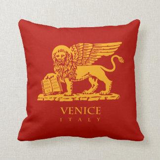 Venice Coat of Arms Throw Pillow