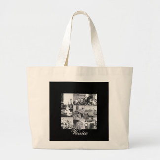 Venice Collage Souvenir Gift Tote Travel Bag Purse