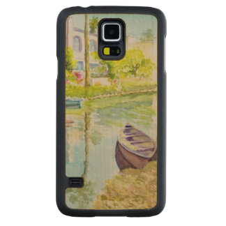Venice Colors Carved Maple Galaxy S5 Case