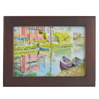 Venice Colors Keepsake Box