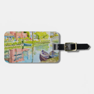 Venice Colors Luggage Tag