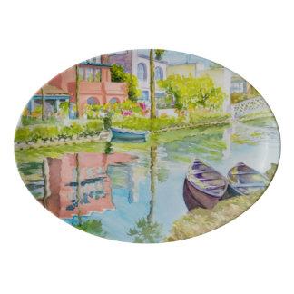 Venice Colors Porcelain Serving Platter