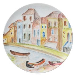 Venice Concept Dinner Plate