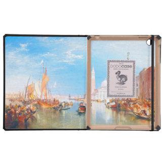 Venice, Dogano and Santa Maria della Salute art iPad Folio Case