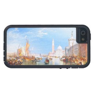 Venice, Dogano and Santa Maria della Salute art iPhone 5 Covers