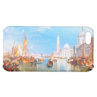 Venice, Dogano and Santa Maria della Salute art iPhone 5C Cases