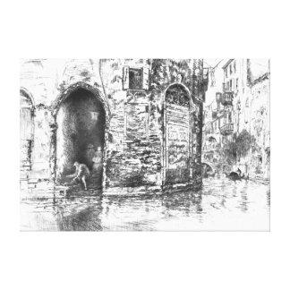Venice Doorways 1880 Canvas Prints