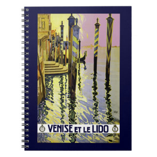 Venice et le Lido Spiral Note Books