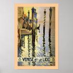 Venice et le Lido Posters