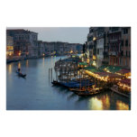 Venice Evening Grand Canal Posters