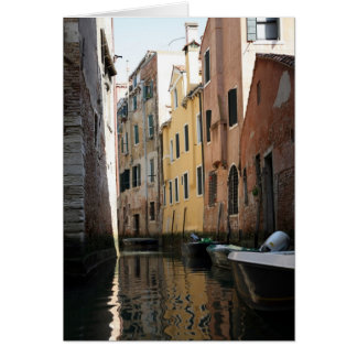 Venice From The Gondola Greeting Cards