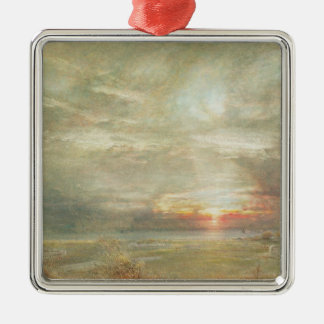 Venice from the Hebrew Cemetery Christmas Ornament