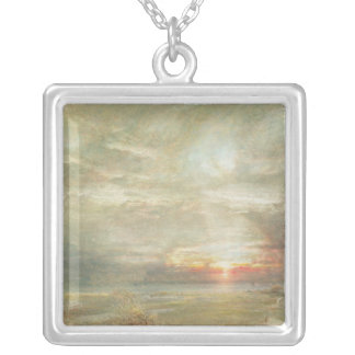 Venice from the Hebrew Cemetery Silver Plated Necklace