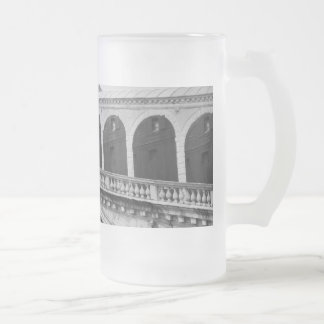 Venice Frosted Glass Beer Mug