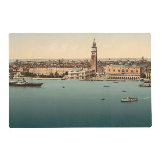 Venice General View, Venice, Italy Laminated Placemat