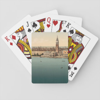 Venice General View, Venice, Italy Poker Deck