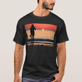 VENICE GIRL AT LIDO SUNSET T-Shirt