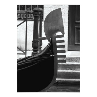 Venice Gondola 13 Cm X 18 Cm Invitation Card