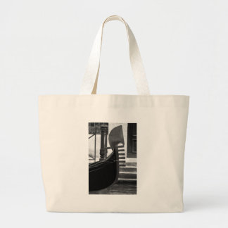 Venice Gondola Large Tote Bag