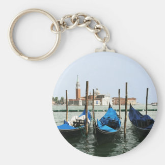 Venice gondolas key ring