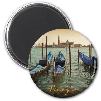 Venice gondolas magnet
