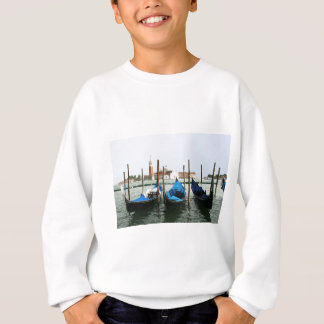 Venice gondolas sweatshirt