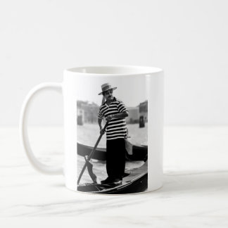 VENICE GONDOLIER WITH HAT COFFEE MUG