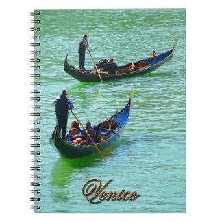 Venice Gondoliers Note Book