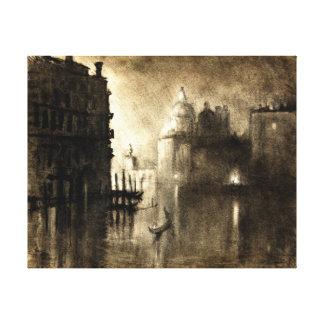 Venice Grand Canal Salute 1905 Canvas Prints